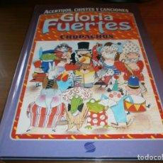 Libros de segunda mano: ACERTIJOS, CHISTES Y CANCIONES. CHUPACHÚS - GLORIA FUERTES - SUSAETA EDICIONES, S.A. - 1994.. Lote 191146626