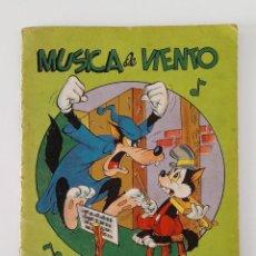 Libros de segunda mano: MÚSICA DE VIENTO. WALT DISNEY SERIE AZUL VOLUMEN 2 EDIT ROMA. W. Lote 191182292