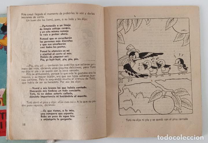 Libros de segunda mano: PAREJA DE CUENTOS COLECCIÓN ALFOMBRA MÁGICA. PÁJAROS EN PRIMAVERA Y UN SASTRECILLO VALIENTE. W - Foto 2 - 191182486