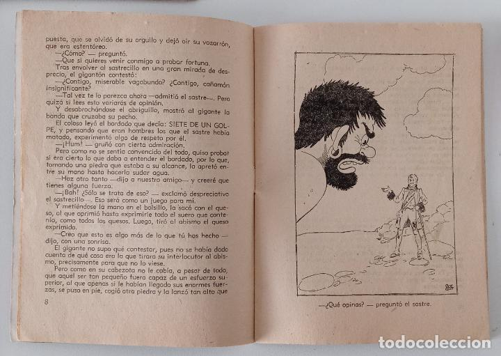 Libros de segunda mano: PAREJA DE CUENTOS COLECCIÓN ALFOMBRA MÁGICA. PÁJAROS EN PRIMAVERA Y UN SASTRECILLO VALIENTE. W - Foto 3 - 191182486