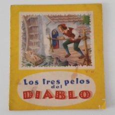 Libros de segunda mano: LOS TRES PELOS DEL DIABLO. Nº 12. COLECCIÓN LECTURAS INFANTILES. 1958. W. Lote 191185082