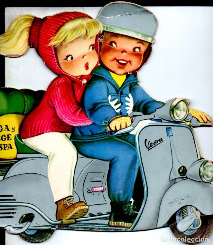 FERRÁNDIZ : OLGA Y JORGE EN VESPA (EDIGRAF VILCAR 7ª EDICIÓN) (Libros de Segunda Mano - Literatura Infantil y Juvenil - Cuentos)