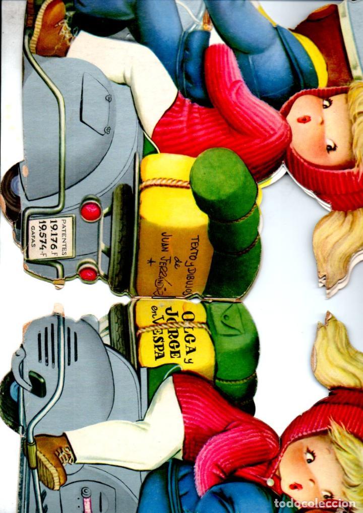Libros de segunda mano: FERRÁNDIZ : OLGA Y JORGE EN VESPA (EDIGRAF VILCAR 7ª EDICIÓN) - Foto 2 - 191196681