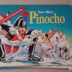 Libros de segunda mano: CUENTO PINOCHO TONY WOLF. Lote 191241373