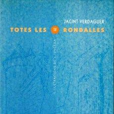 Libri di seconda mano: JACINT VERDAGUER : TOTES LES RONDALLES (PROA, 1995) IL,LUSTRACIONS DE JUNCEDA - CATALÀ. Lote 191505713