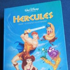 Libros de segunda mano: HÉRCULES DVD +CUENTO ILUSTRADO WALF DISNEY LOS CLÁSICOS NUEVO. Lote 191893375