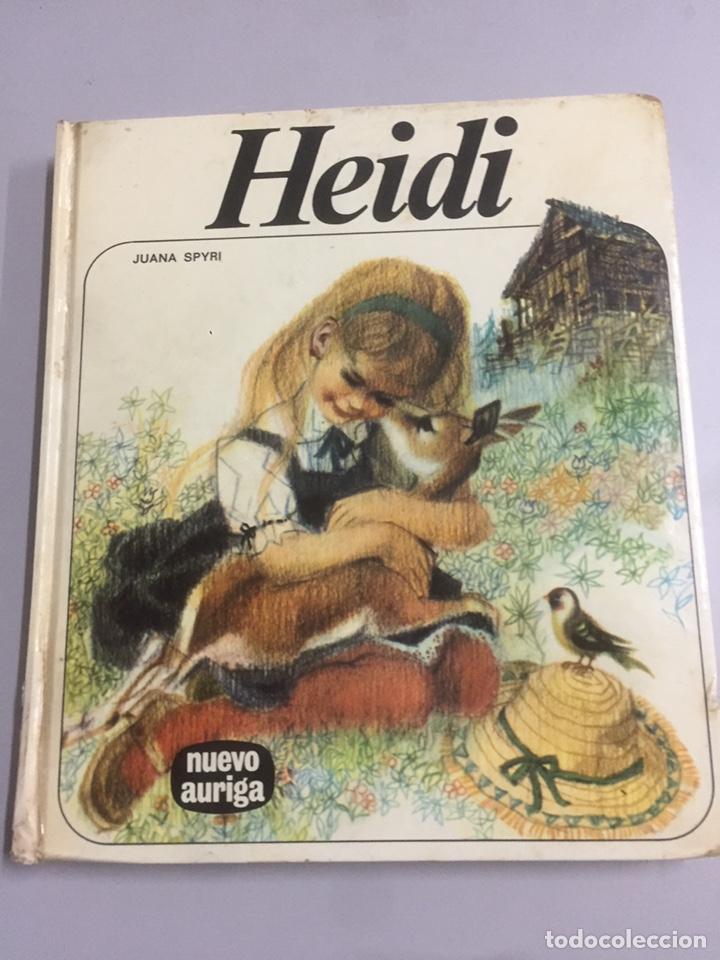 LIBRO HEIDI JUANA SPYRI 20X17CM. 152 PÁG. (Libros de Segunda Mano - Literatura Infantil y Juvenil - Cuentos)