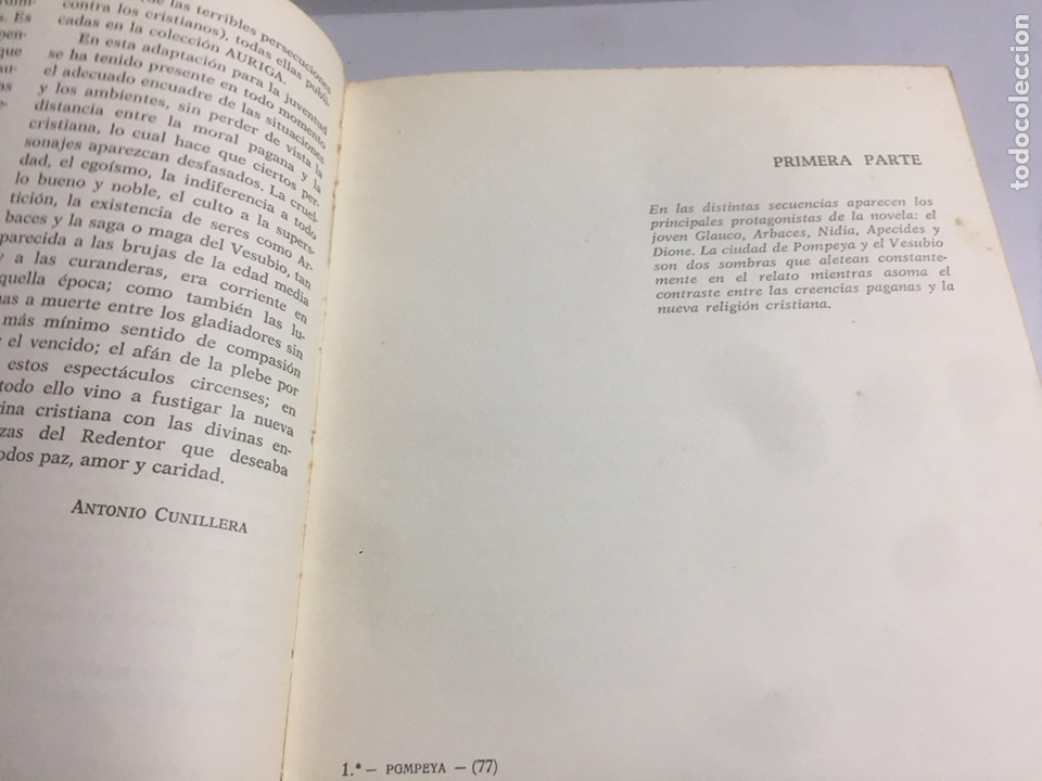 Libros de segunda mano: Los últimos días de Pompeya.1970 185 pág. - Foto 4 - 192023201