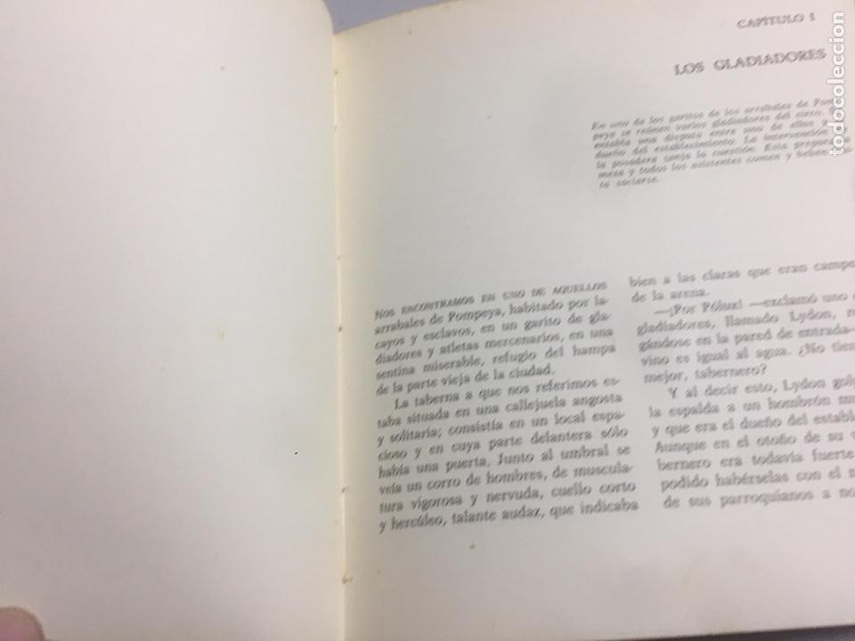 Libros de segunda mano: Los últimos días de Pompeya.1970 185 pág. - Foto 5 - 192023201