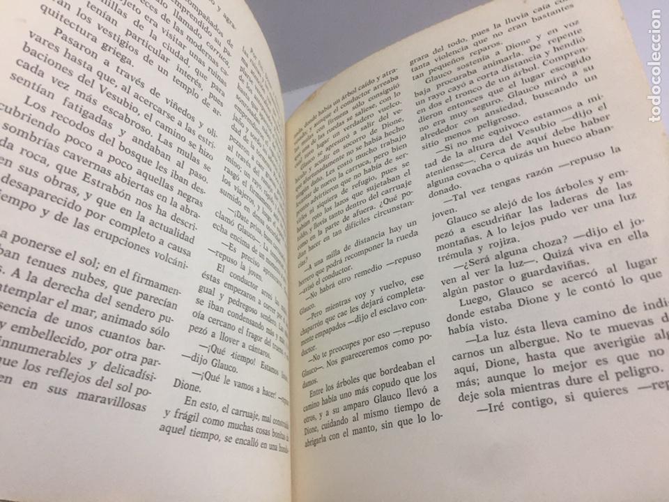 Libros de segunda mano: Los últimos días de Pompeya.1970 185 pág. - Foto 6 - 192023201