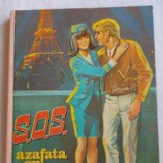 Libros de segunda mano: S.O.S AZAFATA EN APUROS. SERIE JOVENCITA EDICIONES EVA. 1967 BILBAO. Lote 192212027