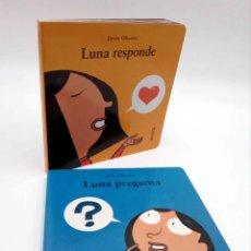 Libros de segunda mano: MI PRIMERA SOPA DE LIBROS. LUNA PREGUNTA / LUNA RESPONDE (JAVIER OLIVARES) ANAYA, 2008. OFRT. Lote 192250058