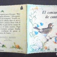 Libros de segunda mano: EL CONCURSO DE CANTO COLECCIÓN CELESTE 6 EDITORIAL ROMA IMPECABLE 1972 IL·LUSTRACIONS YVONNE PERRIN. Lote 192569536