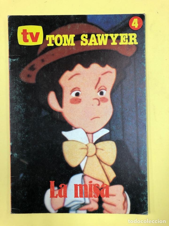 TV - TOM SAWYER 4 - LA MISA - EDICIONES PIESA 1981 (Libros de Segunda Mano - Literatura Infantil y Juvenil - Cuentos)