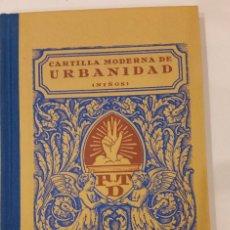 Libros de segunda mano: REGLAS DE URBANIDAD. Lote 192690545