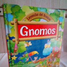 Libros de segunda mano: 18-GNOMOS, LEYENDAS DEL BOSQUE, SUSAETA, ILUSTRACIONES. Lote 192840280