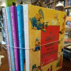 Livres d'occasion: EL GRAN LIBROS DE LOS CUENTOS. 5 LIBROS. EDITORIAL MOLINO. Lote 193229378