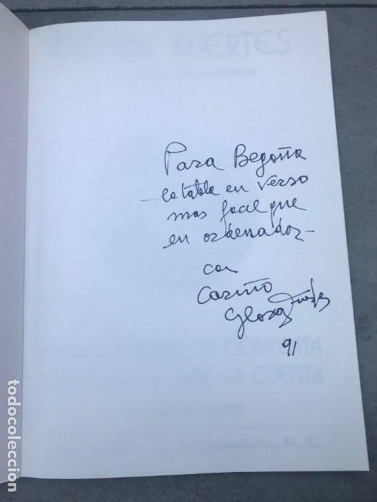 Libros de segunda mano: YO CONTENTO, TU CONTENTA...GLORIA FUERTES, LIBRO INFANTIL FIRMADO Y DEDICADO - Foto 3 - 193324877