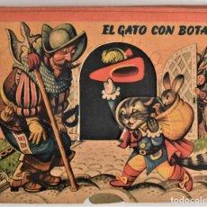 Libros de segunda mano: EL GATO CON BOTAS - PRECIOSO CUENTO CON DIORAMAS Y MOVILES - BANCROFT & CO. AÑO 1960. Lote 218139816