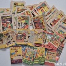 Libros de segunda mano: LOTE 56 MINI CUENTOS VARIADOS AÑOS 60 CON PUBLICIDAD CASA MICALET DE SUECA Y CADENA COLOR BARCELONA. Lote 193438923