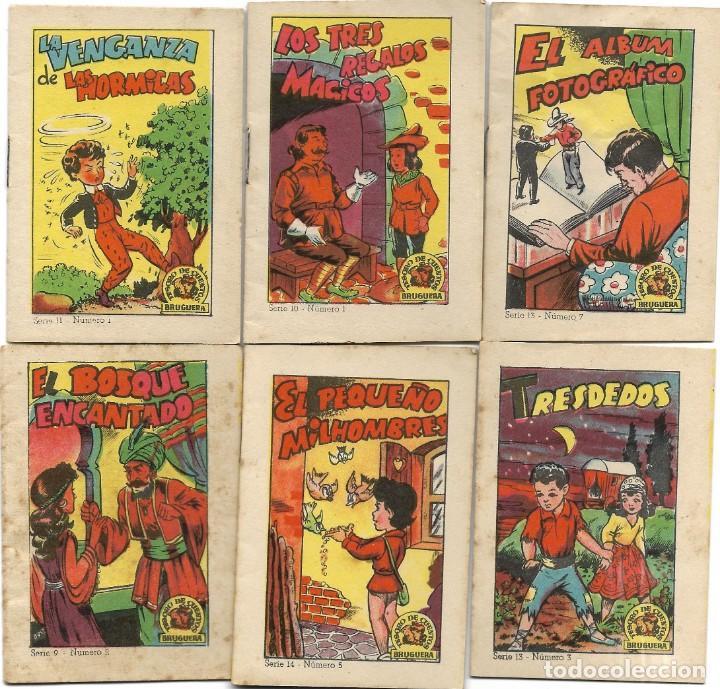 Libros de segunda mano: LOTE 56 MINI CUENTOS VARIADOS AÑOS 60 CON PUBLICIDAD CASA MICALET DE SUECA Y CADENA COLOR BARCELONA - Foto 2 - 193438923
