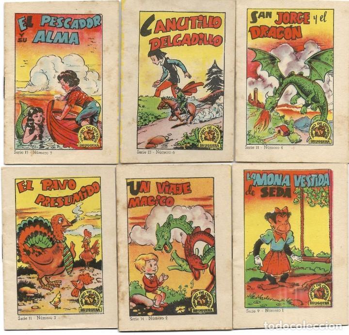 Libros de segunda mano: LOTE 56 MINI CUENTOS VARIADOS AÑOS 60 CON PUBLICIDAD CASA MICALET DE SUECA Y CADENA COLOR BARCELONA - Foto 4 - 193438923