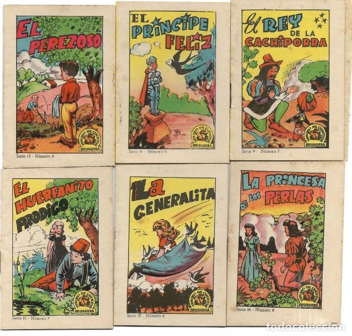 Libros de segunda mano: LOTE 56 MINI CUENTOS VARIADOS AÑOS 60 CON PUBLICIDAD CASA MICALET DE SUECA Y CADENA COLOR BARCELONA - Foto 5 - 193438923