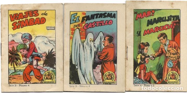 Libros de segunda mano: LOTE 56 MINI CUENTOS VARIADOS AÑOS 60 CON PUBLICIDAD CASA MICALET DE SUECA Y CADENA COLOR BARCELONA - Foto 6 - 193438923