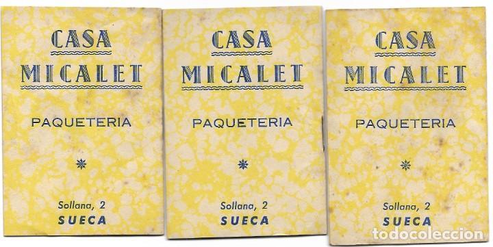 Libros de segunda mano: LOTE 56 MINI CUENTOS VARIADOS AÑOS 60 CON PUBLICIDAD CASA MICALET DE SUECA Y CADENA COLOR BARCELONA - Foto 7 - 193438923