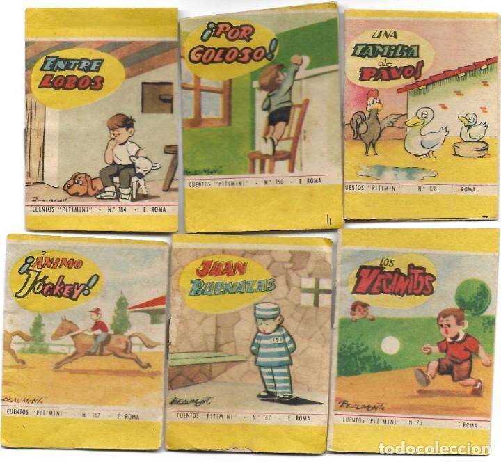 Libros de segunda mano: LOTE 56 MINI CUENTOS VARIADOS AÑOS 60 CON PUBLICIDAD CASA MICALET DE SUECA Y CADENA COLOR BARCELONA - Foto 8 - 193438923