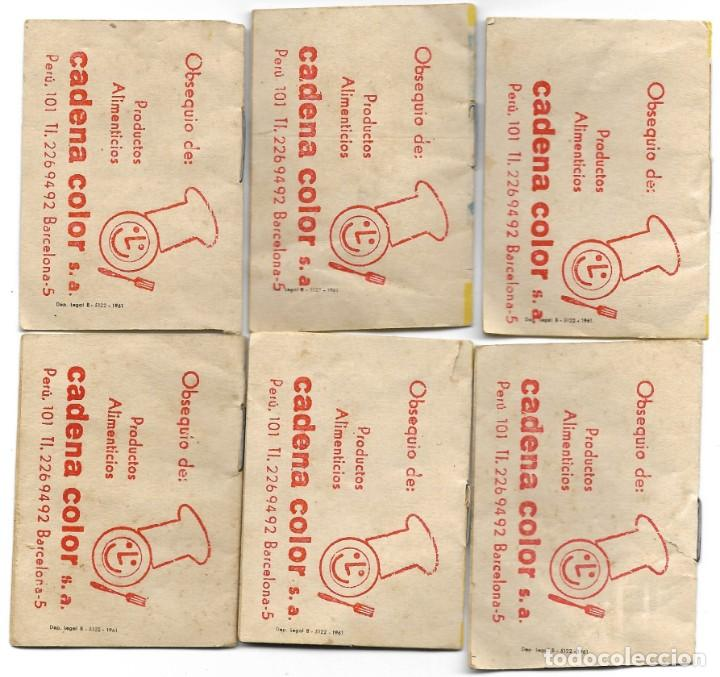 Libros de segunda mano: LOTE 56 MINI CUENTOS VARIADOS AÑOS 60 CON PUBLICIDAD CASA MICALET DE SUECA Y CADENA COLOR BARCELONA - Foto 10 - 193438923