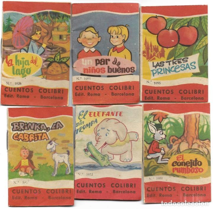 Libros de segunda mano: LOTE 56 MINI CUENTOS VARIADOS AÑOS 60 CON PUBLICIDAD CASA MICALET DE SUECA Y CADENA COLOR BARCELONA - Foto 11 - 193438923