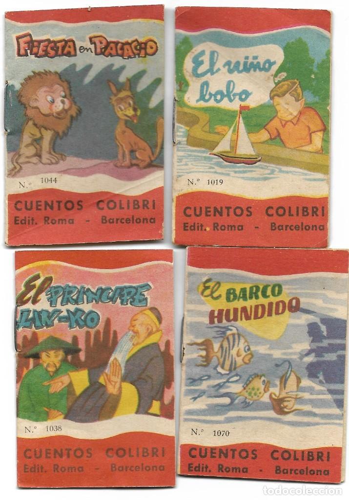 Libros de segunda mano: LOTE 56 MINI CUENTOS VARIADOS AÑOS 60 CON PUBLICIDAD CASA MICALET DE SUECA Y CADENA COLOR BARCELONA - Foto 12 - 193438923