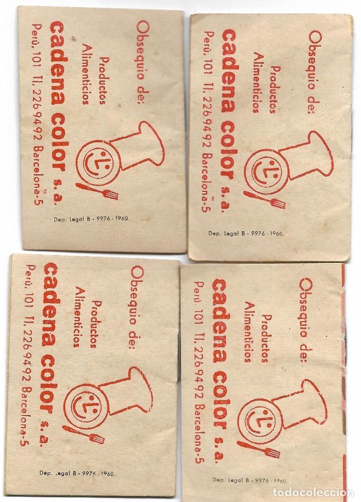 Libros de segunda mano: LOTE 56 MINI CUENTOS VARIADOS AÑOS 60 CON PUBLICIDAD CASA MICALET DE SUECA Y CADENA COLOR BARCELONA - Foto 13 - 193438923