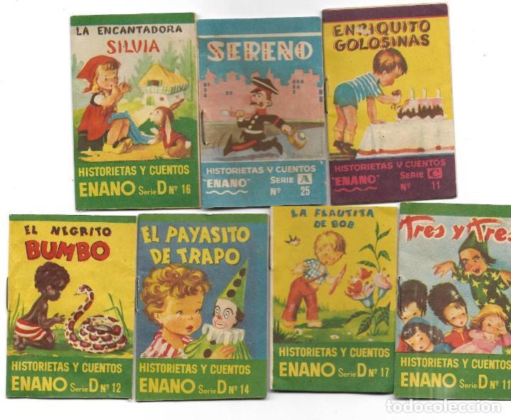 Libros de segunda mano: LOTE 56 MINI CUENTOS VARIADOS AÑOS 60 CON PUBLICIDAD CASA MICALET DE SUECA Y CADENA COLOR BARCELONA - Foto 14 - 193438923