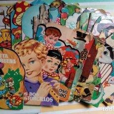 Livres d'occasion: LOTE 49 CUENTOS TROQUELADOS TORAY Y OTROS MARIA PASCUAL, CONSTANZA, AYNÉ, GABRIEL AÑOS 50-70. Lote 192684001