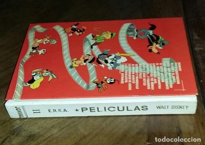 WALT DISNEY. PELICULAS. SEGUNDO TOMO. COLECCIÓN JOVIAL. E.R.S.A. 1972. (Libros de Segunda Mano - Literatura Infantil y Juvenil - Cuentos)