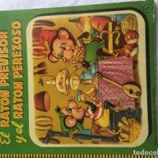 Libros de segunda mano: EL RATÓN PREVISOR Y EL RATÓN PEREZOSO. SUEÑOS EN COLORES. ED. ROMA, . Lote 194253276