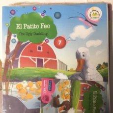 Libros de segunda mano: EL PATITO FEO. VAUGHAN. Nº 7. EDICIÓN BILINGÜE ESPAÑOL-INGLES, CON CD. BIBLIOTECA INFANTIL EL MUNDO. Lote 194264116