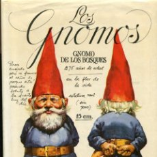 Libros de segunda mano: GNOMOS. ED. MONTENA 1985. TAPA DURA. Lote 194268786