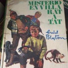 Libros de segunda mano: MISTERIO EN VILLA RAT ENID BLYTON OLORON CAJA H. Lote 194297680