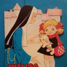 Libros de segunda mano: PITUSA VA AL COLEGIO. EUGENIO SOTILLOS. EDICIONES TORAY. Lote 194489370