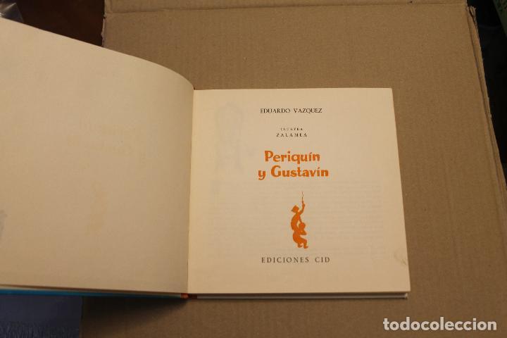 Libros de segunda mano: PERIQUÍN Y GUSTAVÍN, DE EDUARDO VAZQUEZ, EDICIONES CID, AÑO 1961 - Foto 2 - 194496170