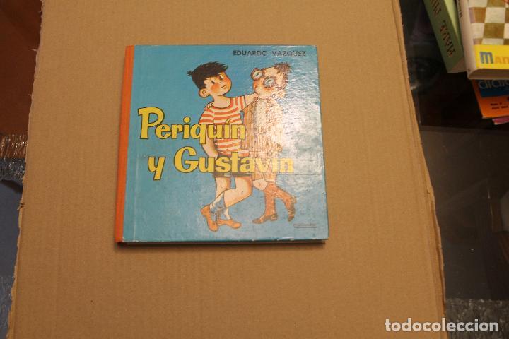 PERIQUÍN Y GUSTAVÍN, DE EDUARDO VAZQUEZ, EDICIONES CID, AÑO 1961 (Libros de Segunda Mano - Literatura Infantil y Juvenil - Cuentos)