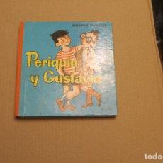 Libros de segunda mano: PERIQUÍN Y GUSTAVÍN, DE EDUARDO VAZQUEZ, EDICIONES CID, AÑO 1961. Lote 194496170