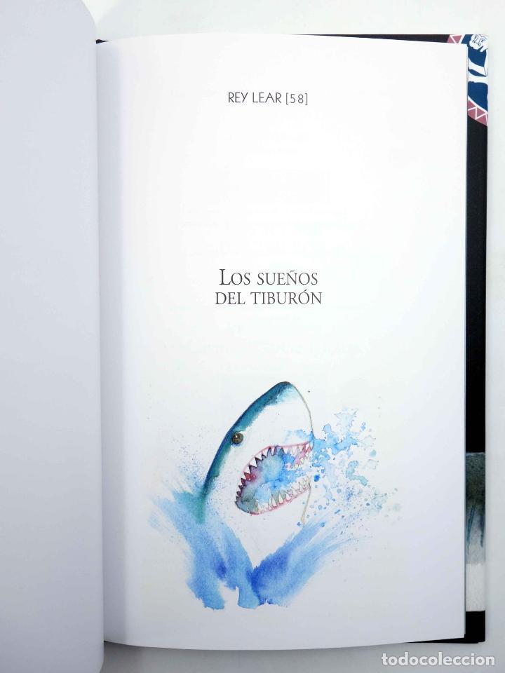 Libros de segunda mano: LOS SUEÑOS DEL TIBURÓN (Carmen García Iglesias) Rey Lear, 2013. OFRT antes 14,95E - Foto 3 - 194504208