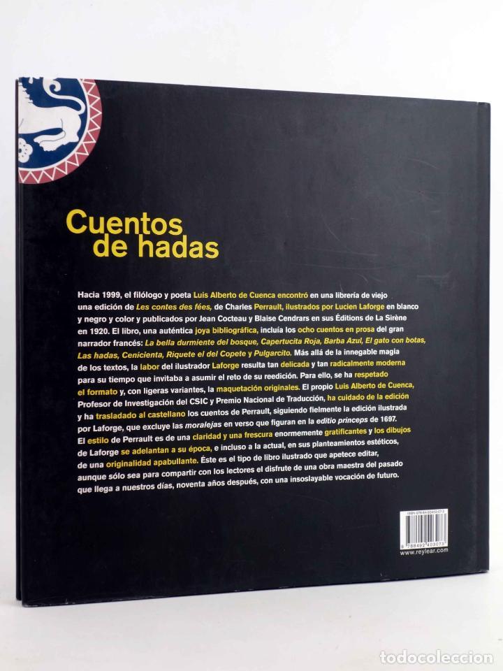 Libros de segunda mano: CUENTOS DE HADAS (Charles Perrault / Lucien Laforge) Rey Lear, 2008. OFRT antes 25E - Foto 2 - 194504216