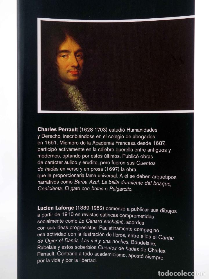Libros de segunda mano: CUENTOS DE HADAS (Charles Perrault / Lucien Laforge) Rey Lear, 2008. OFRT antes 25E - Foto 3 - 194504216