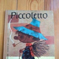 Libros de segunda mano: PICCOLETTO - RENATO RASCEL & ENNIO DI MAJO - LUMEN 1963 D50. Lote 194561736
