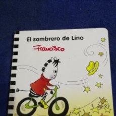 Libros de segunda mano: EL SOMBRERO DE LINO. EDUCACION INFANTIL 2 AÑOS. Lote 194568150